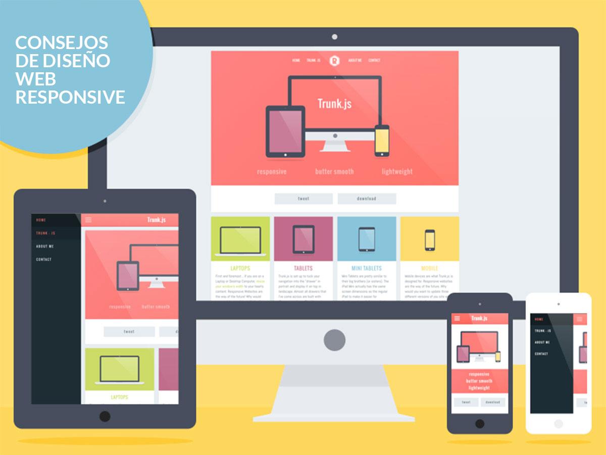 Consejos diseño web responsive