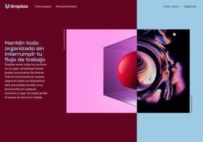 Espacio negativo en el diseño web