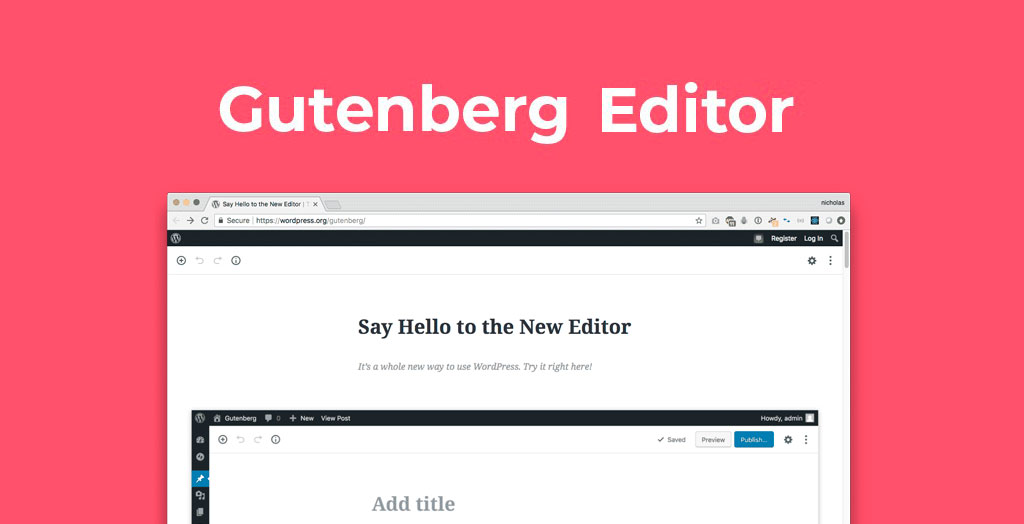 editor gutenberg de wordpress
