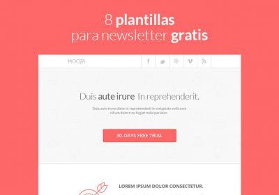 8 plantillas para newsletter gratis