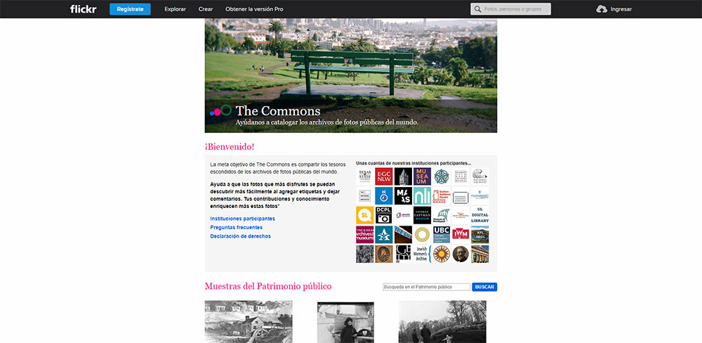 Flickr: The Commons