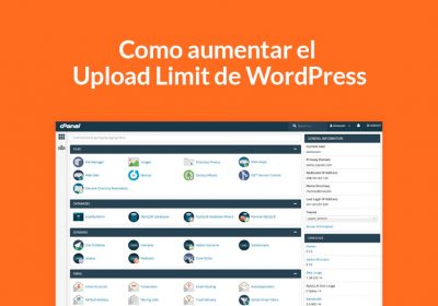Como aumentar el Upload Limit de WordPress