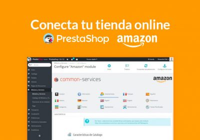 conectar Prestashop con Amazon