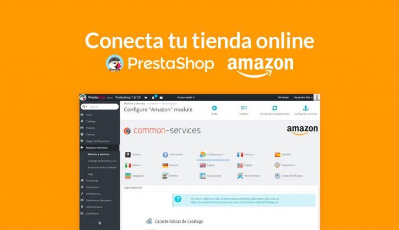 conectar Prestashop con Amazon