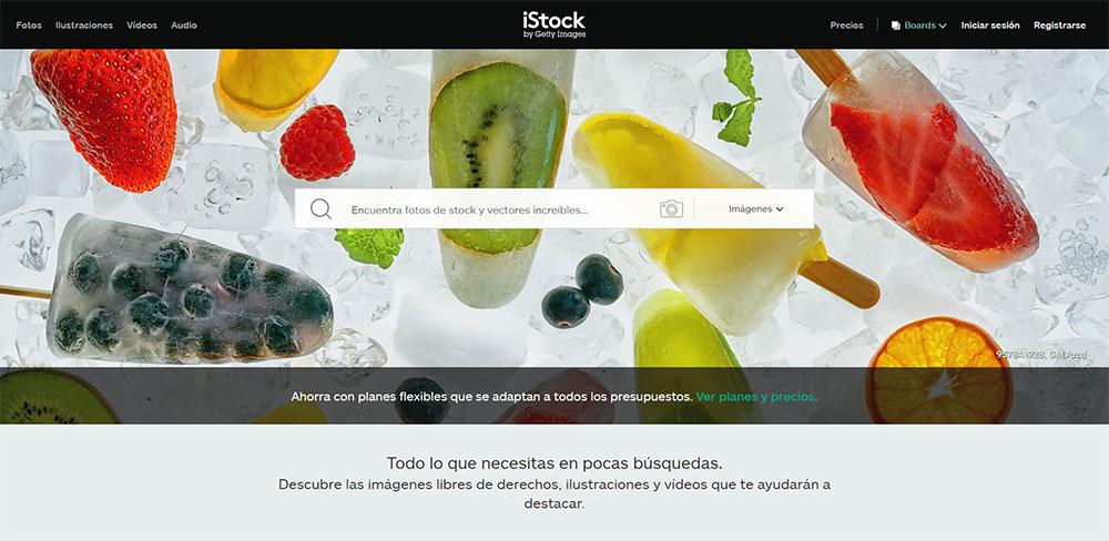 iStock descargar imágenes premium
