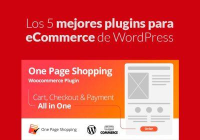 5 mejores plugins para eCommerce de WordPress