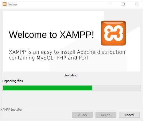 Bienvenido a XAMPP