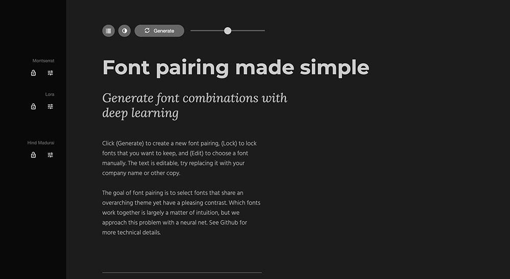 Fontjoy (Generadores gratuitos para combinar textos)