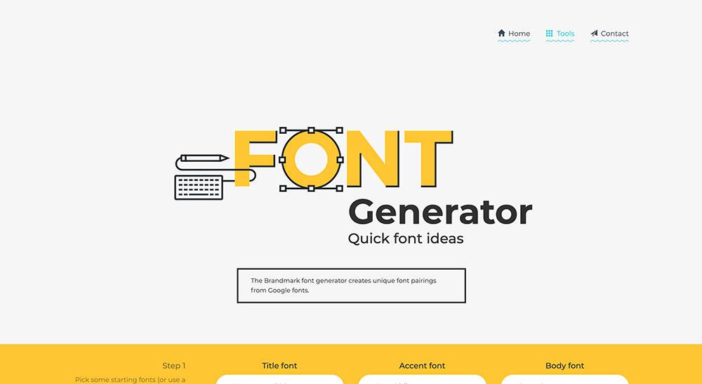 Font Generator (Generador gratuito para combinar fuentes)