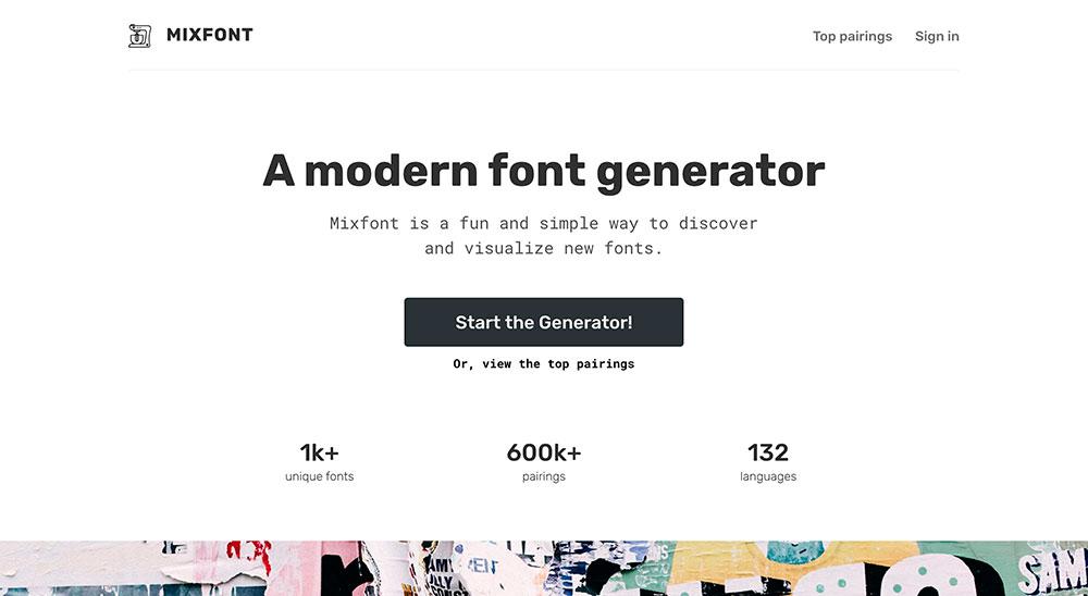 Mixfont (Generadores gratuitos para combinar textos)