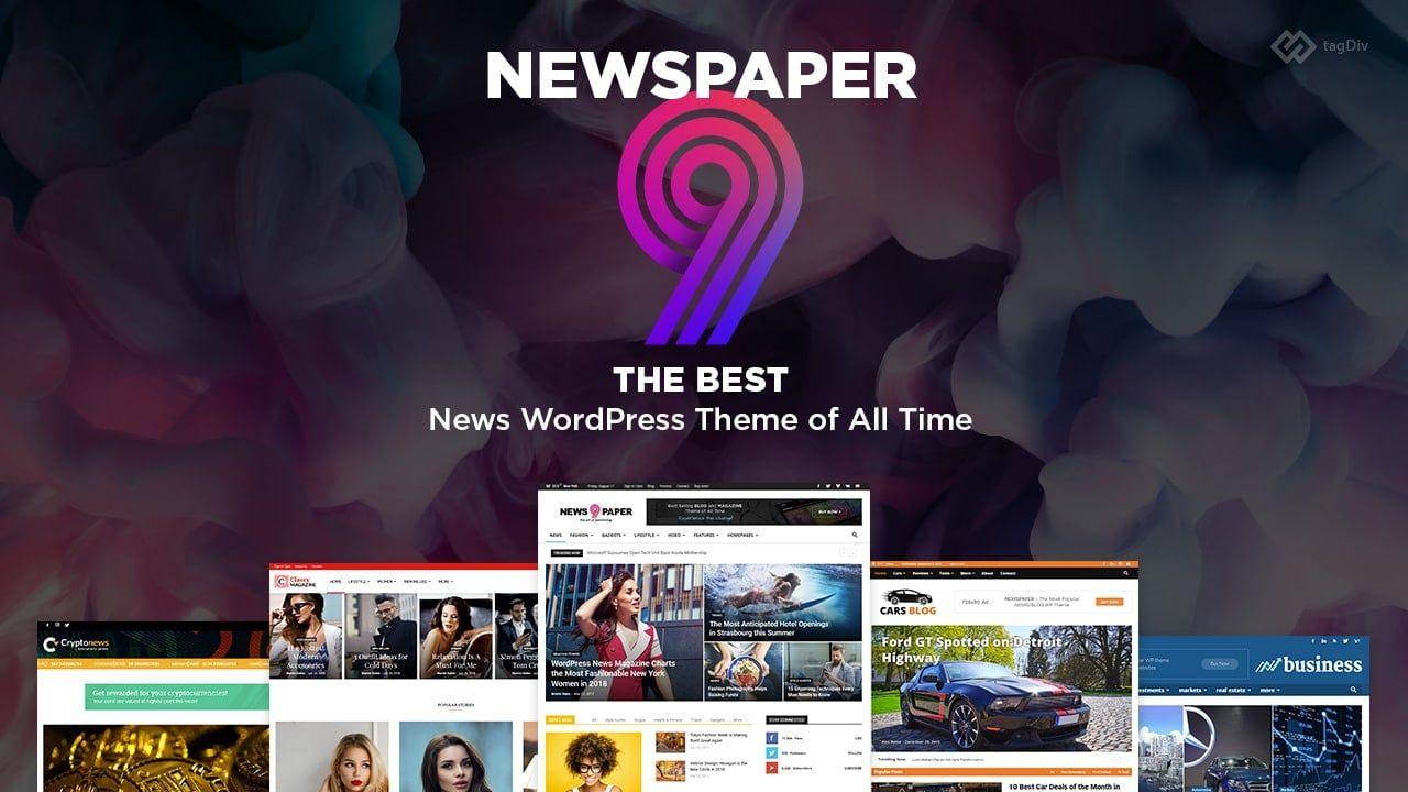 Newspaper WordPress para blogs
