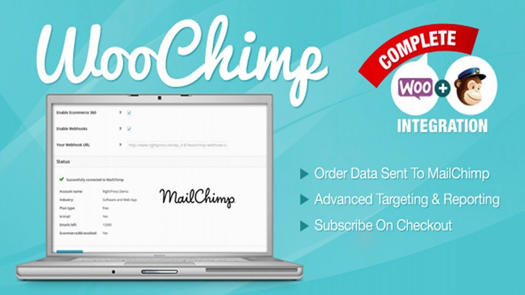 WooChimp: plugins para eCommerce de WordPress