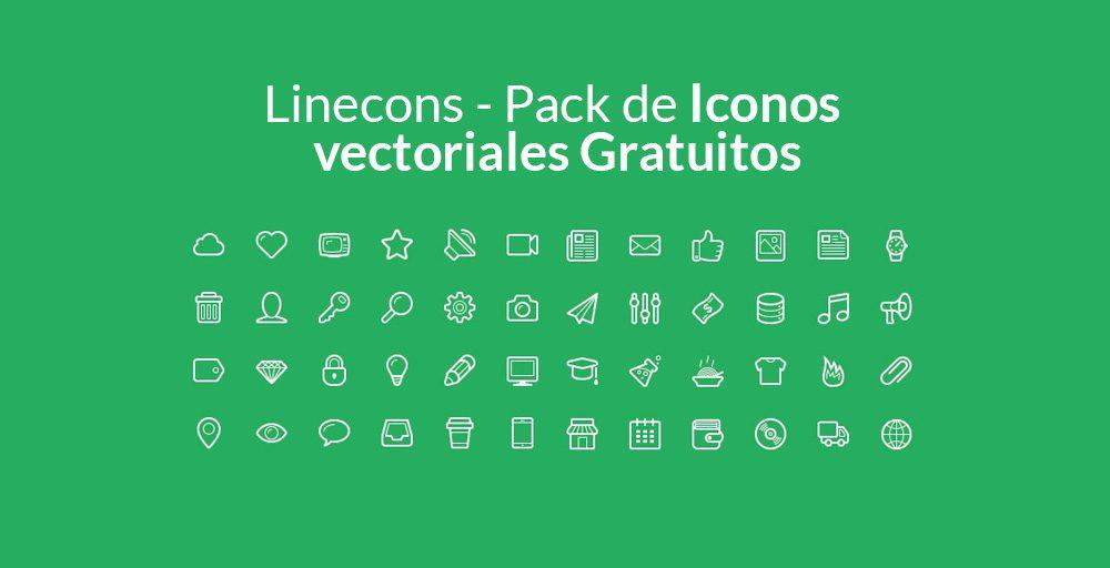 Pack de Iconos vectoriales Gratuitos