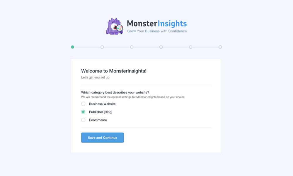 instalar y activar el plugin MonsterInsights