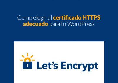 Como elegir el certificado HTTPS adecuado para tu WordPress