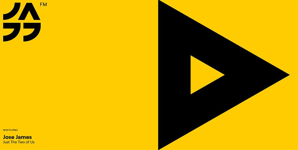 Jazz FM diseño web minimalista