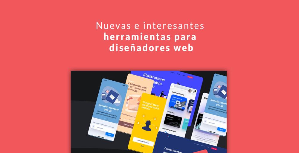 Nuevas e interesantes herramientas para diseñadores web