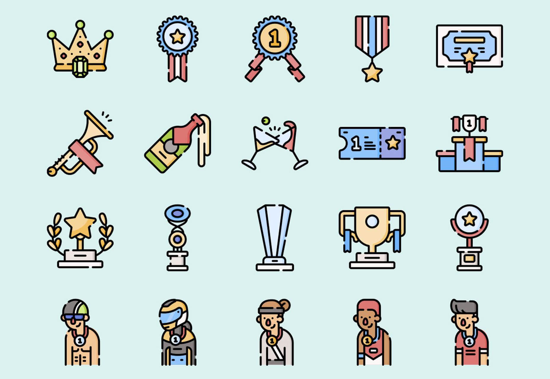 Winning Icons