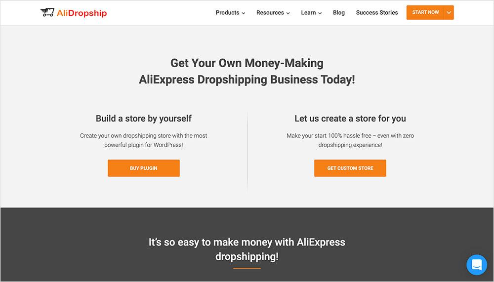 AliDropship para AliExpress conWoocommerce