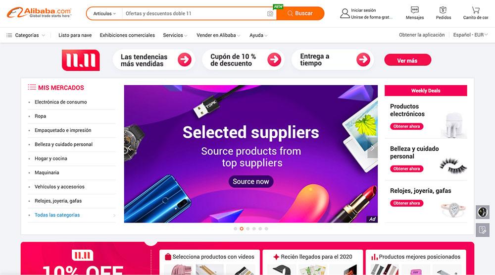 Mi selección - Alibaba