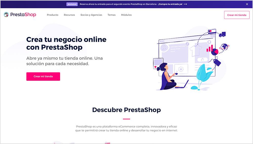 Prestashop: Vender productos online