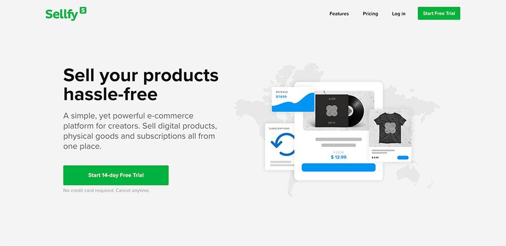 Sellfy: Como vender productos digitales