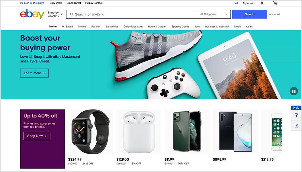eBay: Como vender productos físicos y digitales