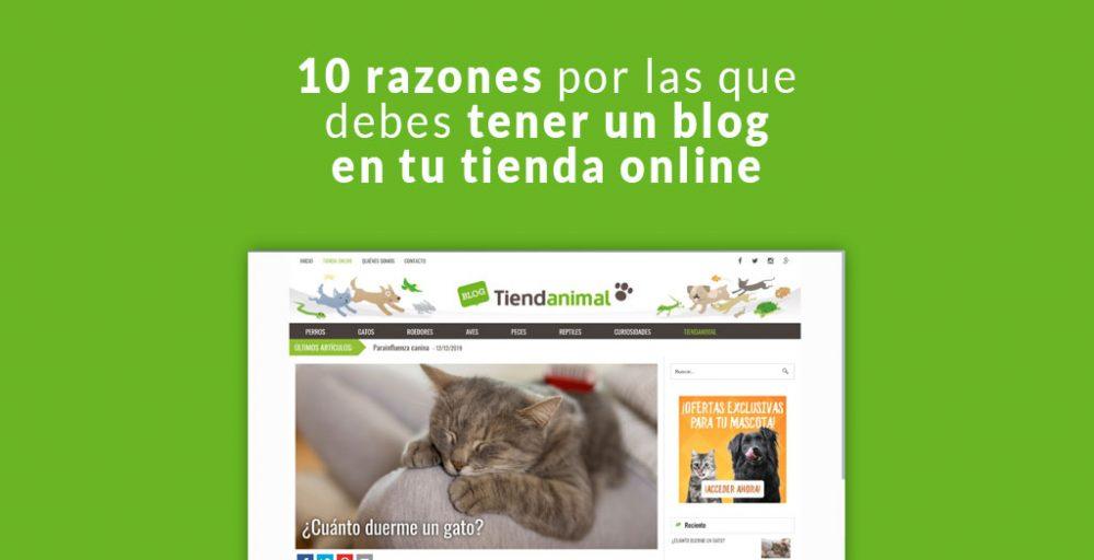 10 razones por las que debes tener un blog en tu tienda online