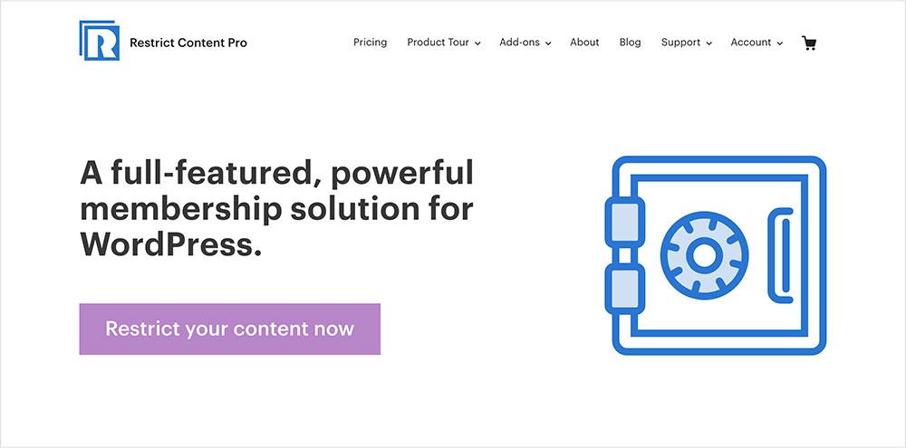 Restrict Content Proplugins de suscripciones para WordPress