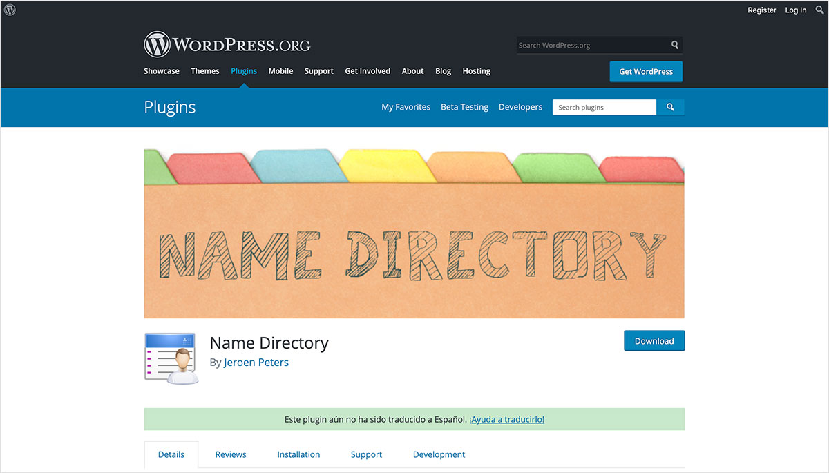 Name Directory