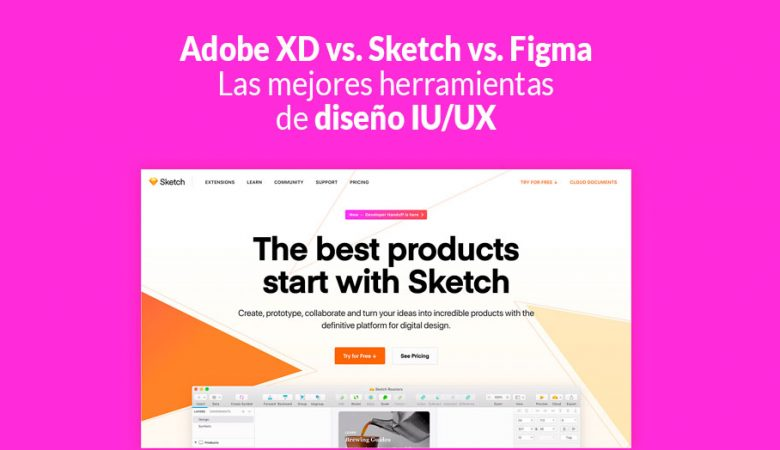 herramientas de diseño IU/UX