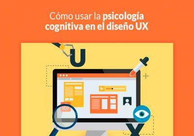 psicología cognitiva en el diseño UX