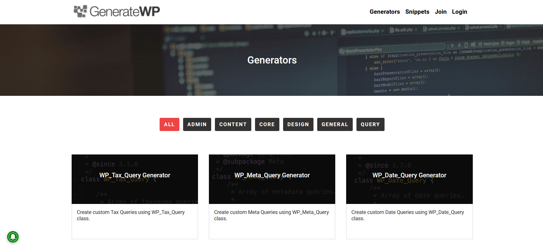 generateWP Herramientas online gratuitas para wordpress