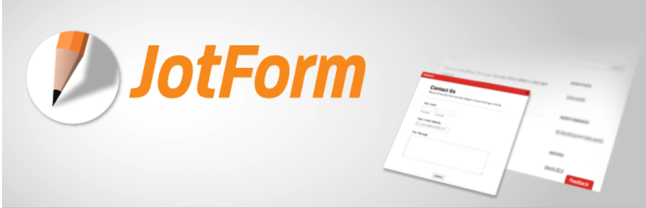 JotForm oEmbed plugins de WordPress para generar leads