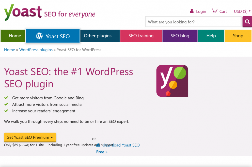 yoast seo plugins de WordPress para generar leads
