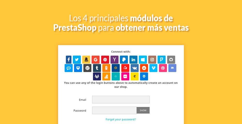 Los 4 principales módulos de PrestaShop para obtener más ventas