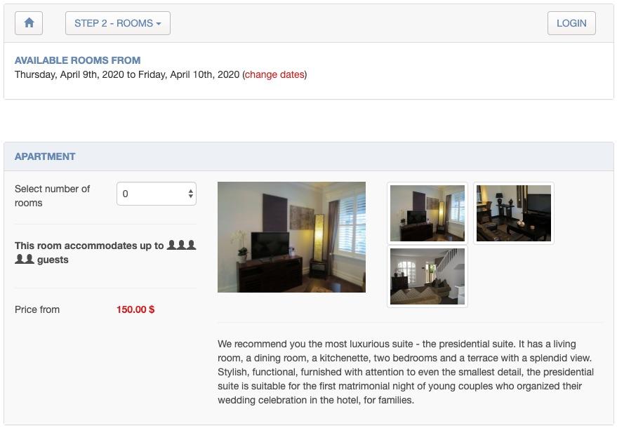 sistema de reservas online para hoteles en PHP