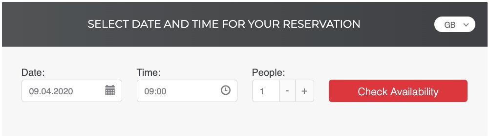 sistema de reservas online para restaurantes PHP