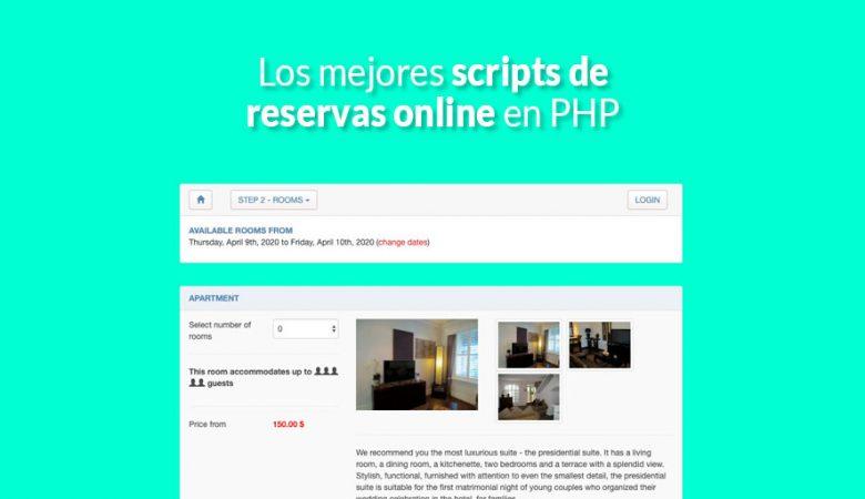 Los mejores scripts de reservas online en PHP