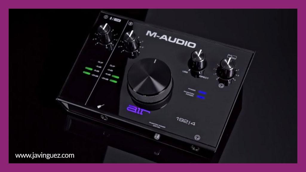 Interfaz de audio M-Audio AIR 192|6