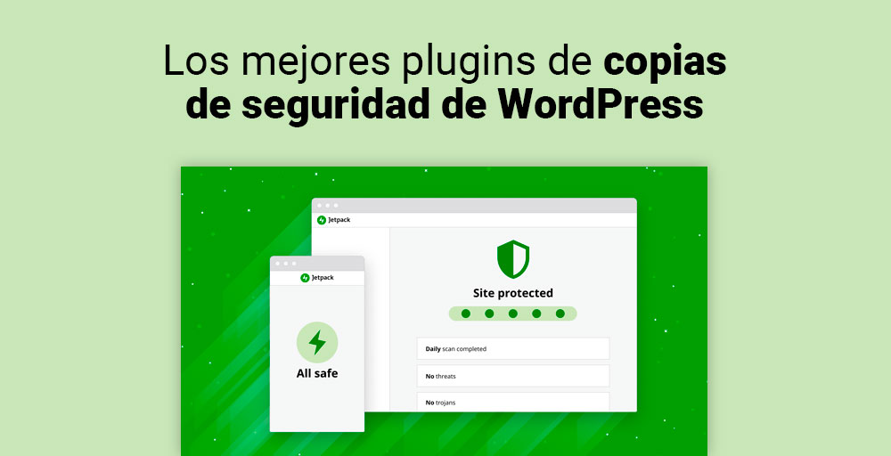los mejores plugins de copias de seguridad de wordpress
